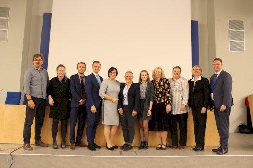 Nuotraukos iš konferencijos