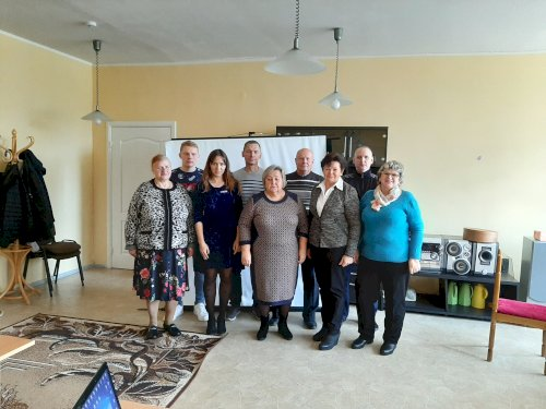 Alytaus kurčiųjų draugijos pirminės organizacijos  vadovas Alytaus savivaldybėje pristatė pranešimą apie centro veiklas, supažindino su teikiamomis paslaugomis