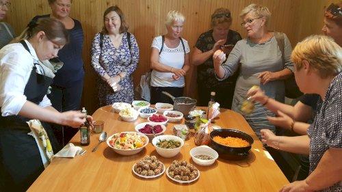 Sveikos mitybos pamokėlės Lietuvos miestuose
