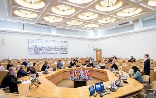 Lietuvių gestų kalbos pripažinimo 25-mečio minėjimas Vyriausybėje