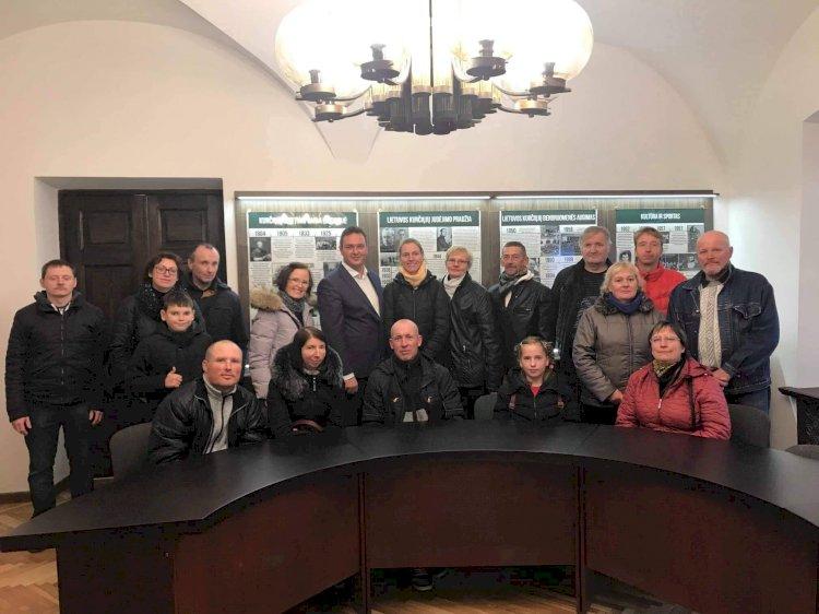 LKD lankėsi Utenos kurčiųjų ir neprigirdinčiųjų organizacijos bendruomenė
