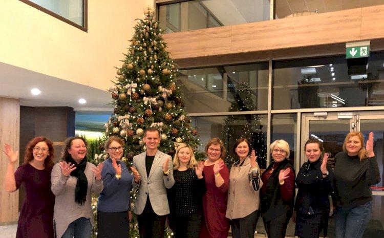 Gruodžio 14-15 dienomis, VšĮ kurčiųjų reabilitacijos centrų vadovų tarybos ir atvejo vadybininkų susitikimas, Birštone.