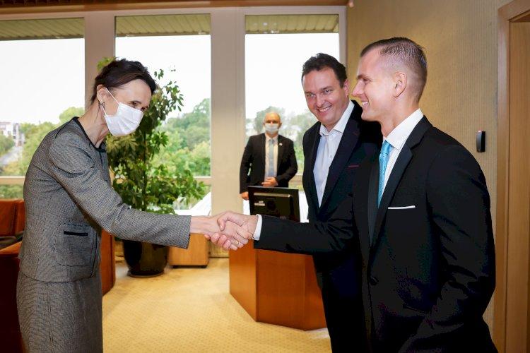 LKD vadovai susitiko su LR Seimo pirmininke